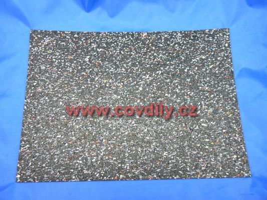Tlumící podložka 5 mm, 300x250 mm