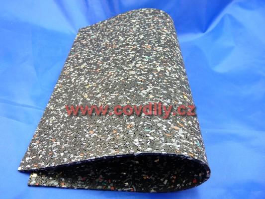 Tlumící podložka 10 mm, 300x250 mm
